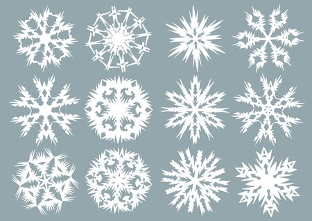 Snowflakes Stock Vector - 3718330