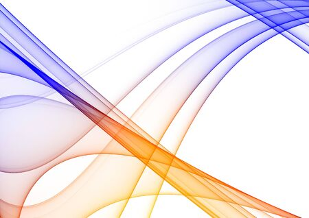 graphical: Colorful rendered fractal design (fantasy abstract background) Stock Photo