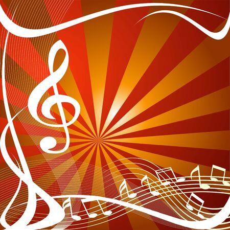 음악 추상적 인 배경