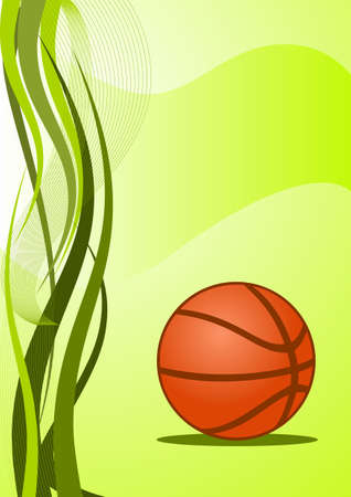 Abstract basketball Background photo