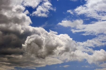 Blue sky and clouds Stock Photo - 4837506