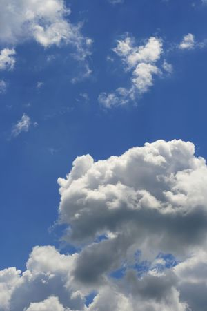 Blue sky and clouds Stock Photo - 4837491