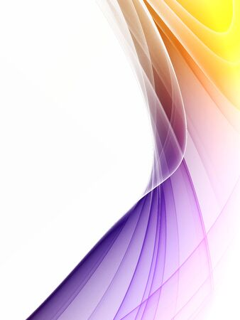 Colorful rendered fractal  ( fantasy, abstract background ) Stock Photo - 5036513