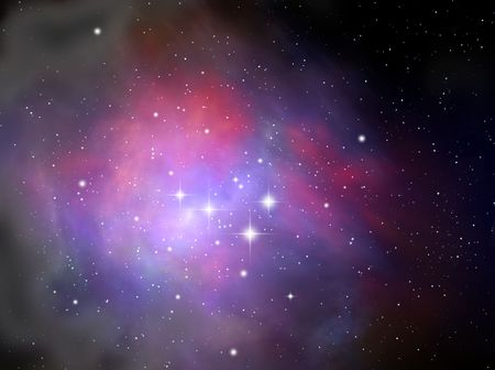 Colorful space nebula Stock Photo - 5954559