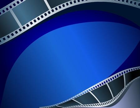 Blank film strip Stock Vector - 8266725