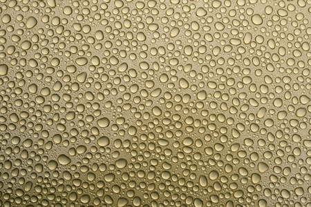 Water drops over metal background Stock Photo - 8266765