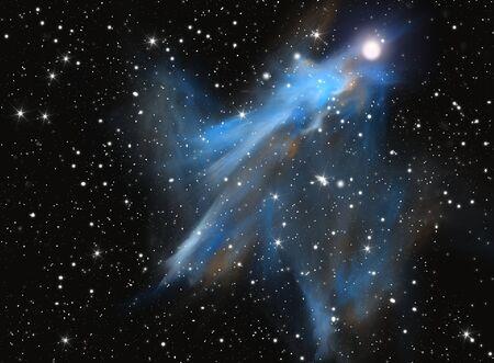 Colorful space nebula Stock Photo - 8266716