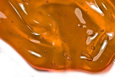 pegamento: Burbujas en miel-mead Foto de archivo