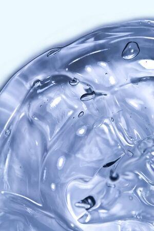 Bubbles in gel Stock Photo - 9102675
