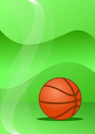 Abstract basketball background ( vector illustration ) Vector