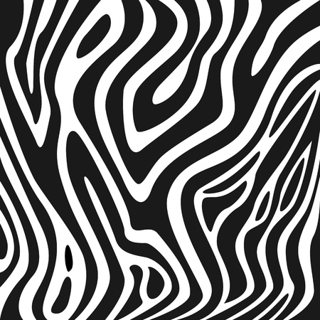 Zebra texture black and white Stock Vector - 9306699