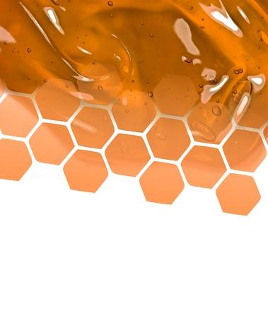 Honey background photo