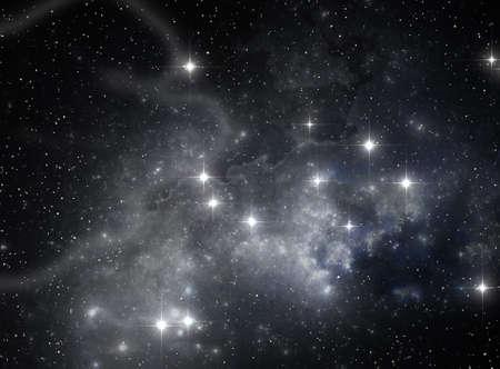 Colorful space star nebula Stock Photo - 9577316