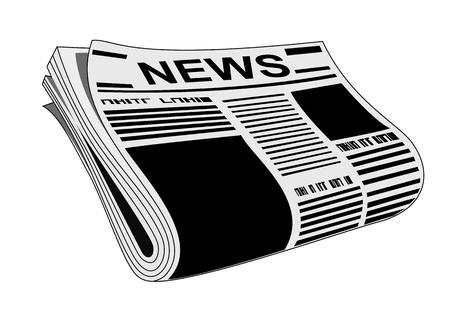 newletter: Giornale  Vettoriali