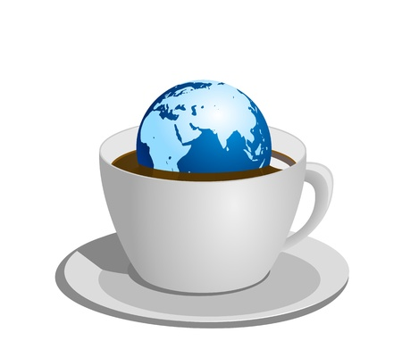 strew: World Coffee Illustration