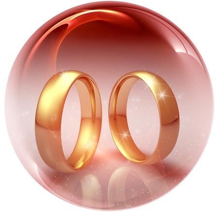 propose: Two wedding ring