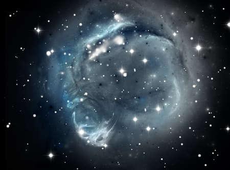Colorful space star nebula Stock Photo - 11818461