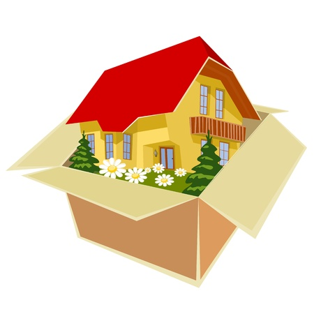 New house for everyone Stock Vector - 11818470