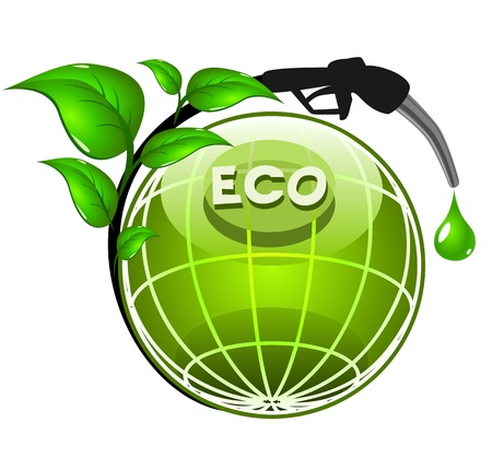 green fuel: Ecology concept