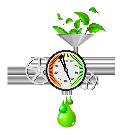 Ecology concept Stock Vector - 12307743