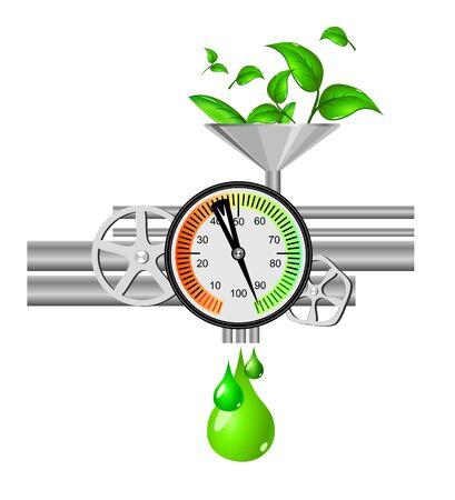 Ecology concept Stock Vector - 12307743