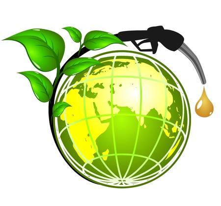 Ecologisch concept Stock Illustratie