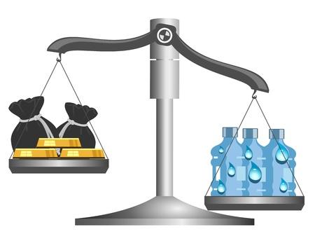 scarce: Drinking water is still scarce
