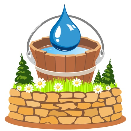 Pure natural water Stock Vector - 16643247
