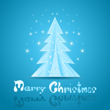 Christmas greeting Card Stock Vector - 16828346
