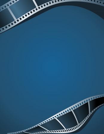 Blank photo - video template, illustration Stock Vector - 16828340