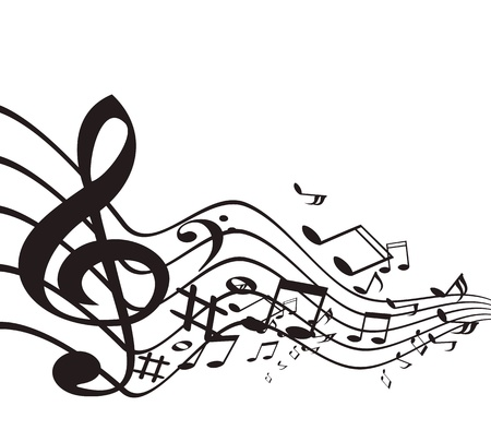 Music theme. Vector illustration.  Stock Vector - 16877980