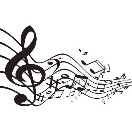 Music theme. Vector illustration. Stock Vector - 16877980