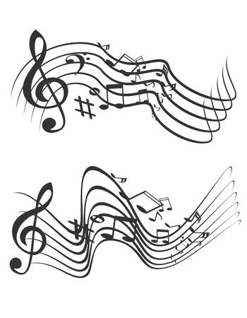 Music theme. Vector illustration. Stock Vector - 16877989