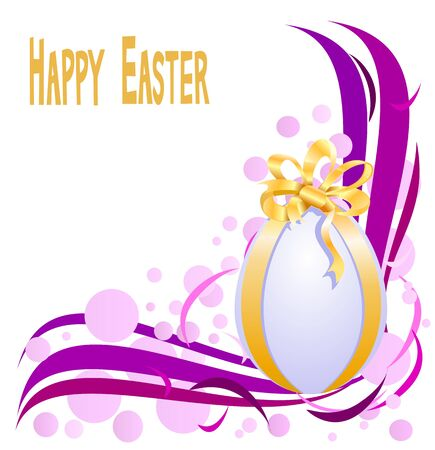 Abstract background with easter eggs Stock Vector - 18427473