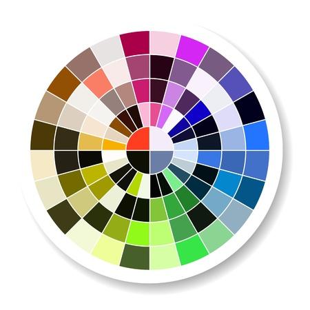 Color Palette Stock Vector - 20442221
