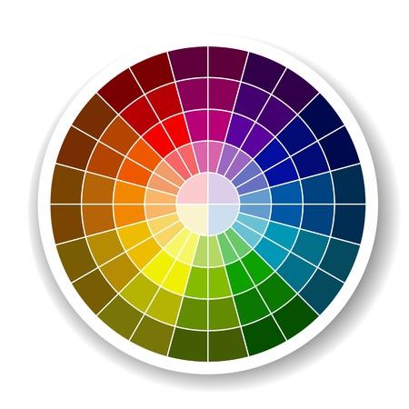 Color Palette Stock Vector - 20442223