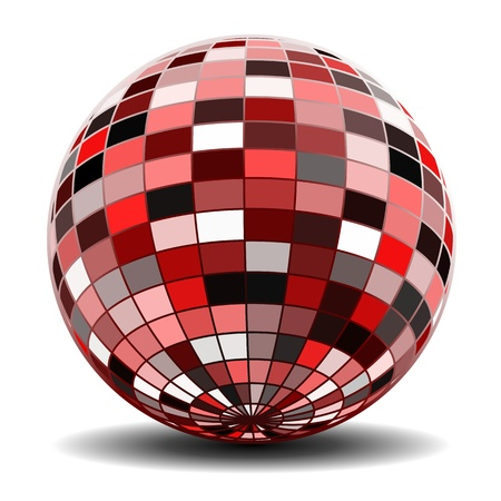 3d shape: Abstract sphere