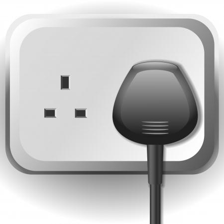 Stopcontact met kabel