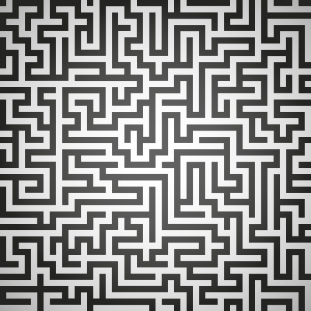 Vector illustration of maze, labyrinth Vector