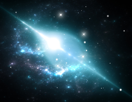 spacetime: Giant cosmic bubble of space-time in the nebula