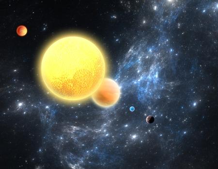 planetarnych: Planetary System z czerwonym karła
