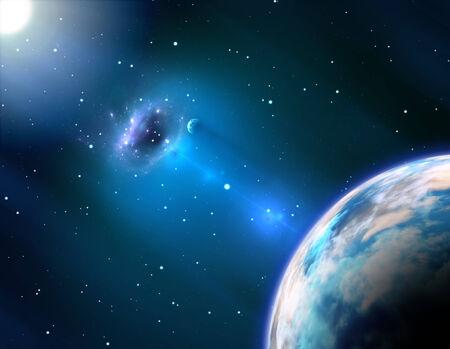 black hole: Black hole near the Earth