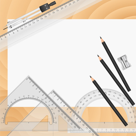 architectural studies: Drawing tools Illustration