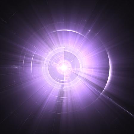Time Warp, les voyages dans l'espace. Banque d'images