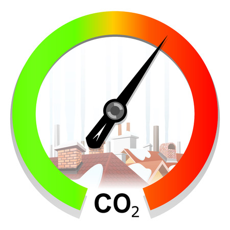 Climate change and global warming concept Vector