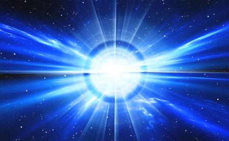 タイムワープ、星と宇宙を旅します。