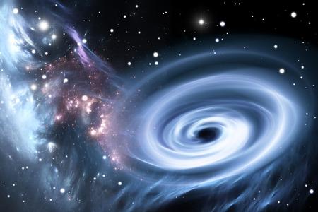 Heavy black hole. photo
