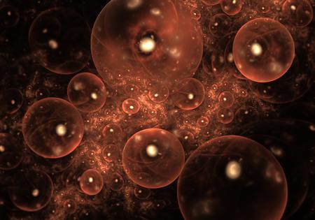 合成細胞 写真素材