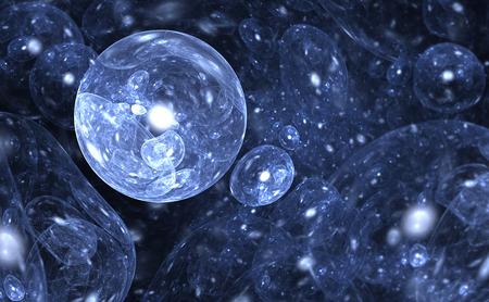oxygen: Water molecule structure. Illustration