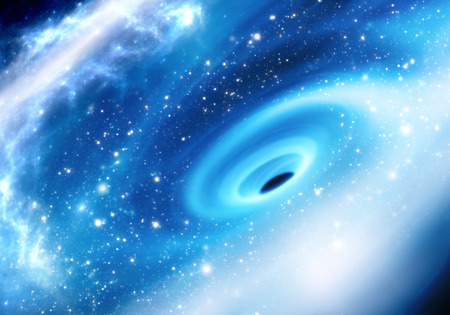 銀河方法銀河中心に超大質量ブラック ホール